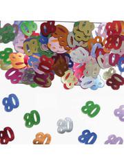 Confetti Leeftijd 80 Jaar