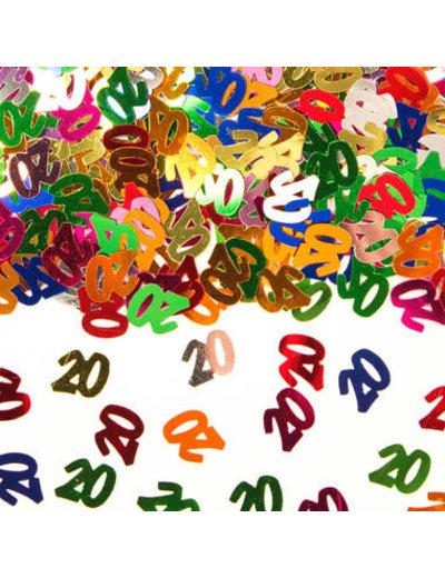 Confetti Leeftijd 20 Jaar