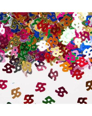 Confetti Leeftijd 55 Jaar