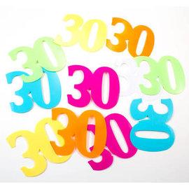 Confetti Tafelconfetti XL Cijfer 30