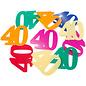 Confetti Tafelconfetti XL Cijfer 40