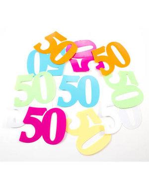 Tafelconfetti XL Cijfer 50