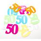 Confetti Tafelconfetti XL Cijfer 50