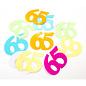 Confetti Tafelconfetti XL Cijfer 65