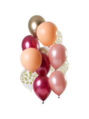 Rich Ruby Ballonnen Set - 12 stk