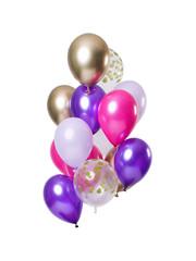 Ballonnen Latex Purple Posh Ballonnen Set - 12stk
