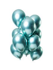 Ballonnen Latex Mirror Chrome Ballonnen Groen - 12stk