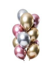 Mirror Chrome Ballonnen Morganite Mix - 12stk