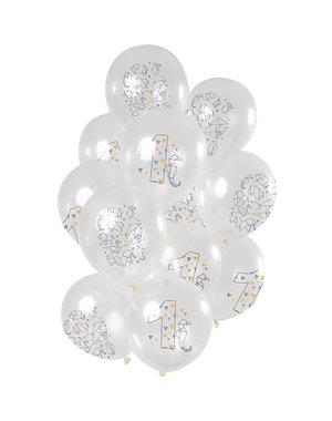 Origami  Ballonnen Mix 1 t/m 10 Jaar - 12stk