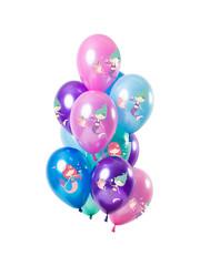 Zeemeermin Ballonnen Mix - 12stk