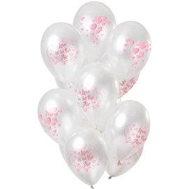 Ballonnen Latex Love is in the Air Ballonnen Mix - 12stk