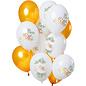 Ballonnen Latex Mr & Mrs Ballonnen Mix - 12stk