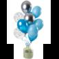 Helium Pakket Helium Tank met Aquamarine Mix Ballonnen