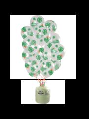 Helium Tank met Tropical Mix Ballonnen