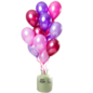 Helium Pakket Helium Tank met Merry Berry Pink Mix Ballonnen