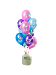 Helium Tank met Zeemeermin Mix Ballonnen