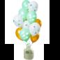 Helium Pakket Helium Tank met Hooray Baby on the Way Mix Ballonnen