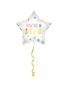 Folieballon You're a Star