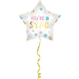 Folieballonnen Folieballon You're a Star