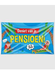 Gevelvlag Gevelvlag Pensioen - Cartoon XXL