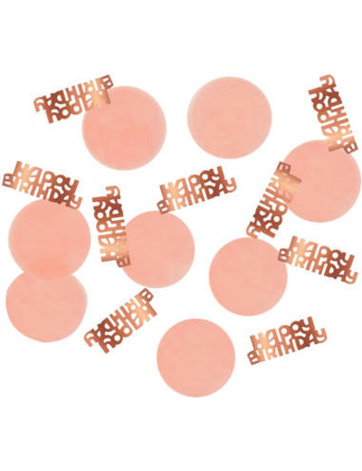 Elegant Lush Blush Confetti