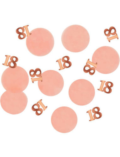 Elegant Lush Blush Confetti - 18 t/m 80 Jaar