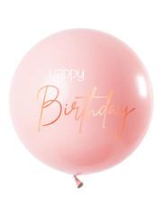 Ballonnen Latex Elegant Lush Blush Mega Ballon - 80cm