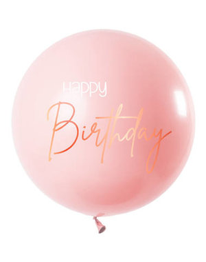 Elegant Lush Blush Mega Ballon - 80cm