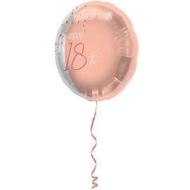 Folieballonnen Elegant Lush Blush Folieballon - 18 t/m 80 jaar