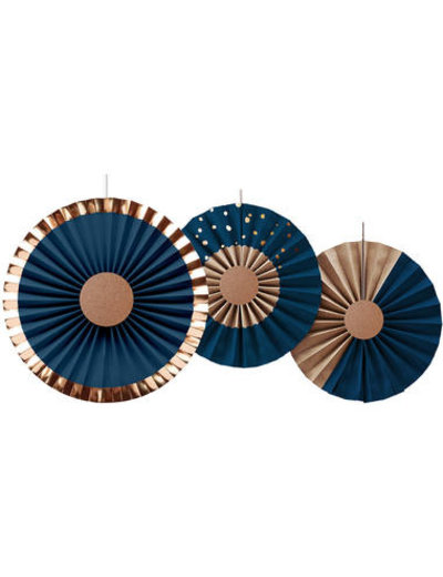 Elegant True Blue Honeycombs