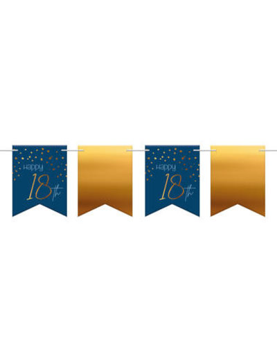 Elegant True Blue Vlaggenlijn - 18 t/m 80 jaar