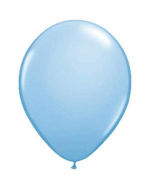 Ballonnen Lichtblauw Metallic - 10, 50, 100stk