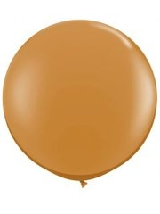 Topballon Mokka Bruin - 90cm  Qualatex