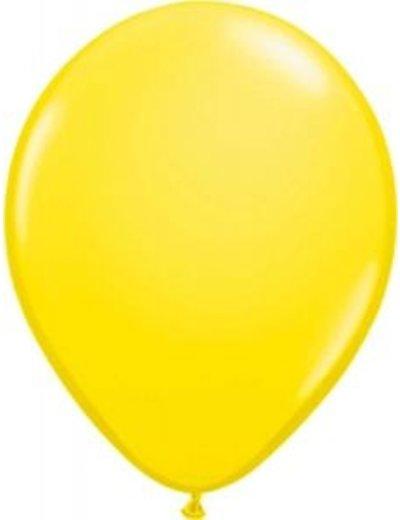 Ballonnen Geel 13cm - 20 stk
