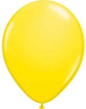 Ballonnen Geel Metallic - 10, 50, 100stk