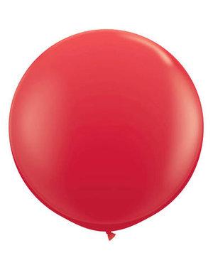 Topballon Rood XL - 90cm
