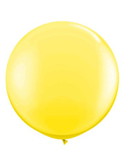 Topballon Geel XL - 90cm