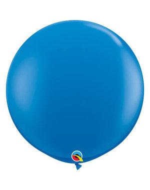 Topballon Donker Blauw - 90cm  Qualatex