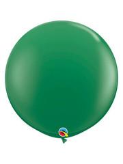 Topballon Donker Groen - 90cm  Qualatex