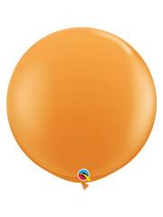 Topballon Oranje - 90cm  Qualatex