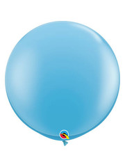 Topballon Pale Blauw - 90cm  Qualatex