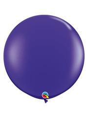 Topballon Paars - 90cm  Qualatex
