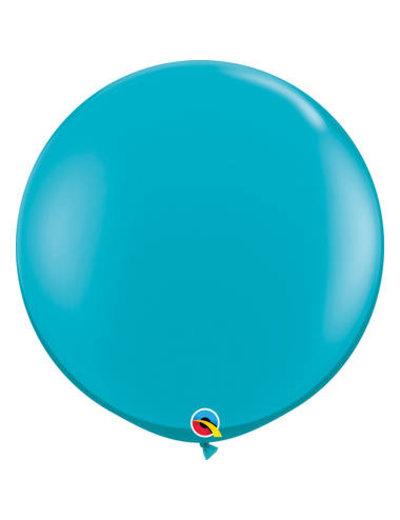 Topballon Tropical Blue - 90cm  Qualatex