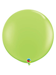Topballon Lime Groen - 90cm  Qualatex