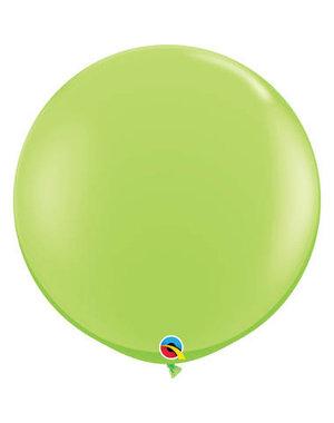 Topballon Lime Groen - 90cm  Qualatex