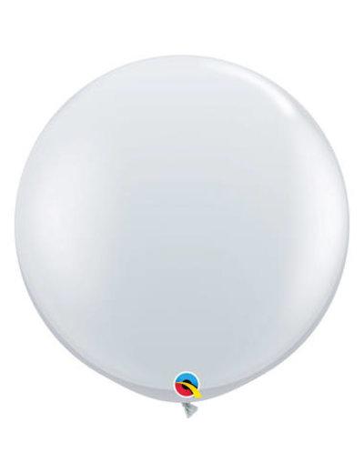 Topballon Transparant - 90cm  Qualatex