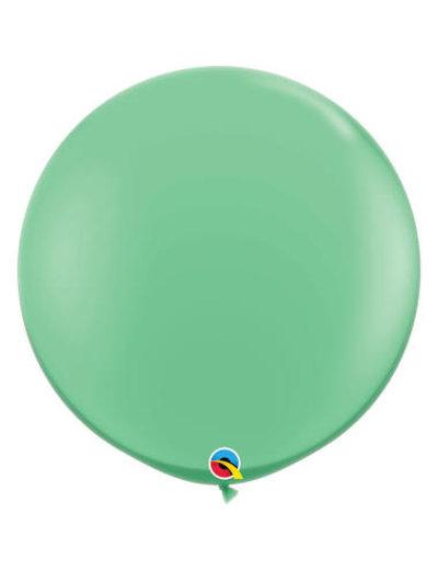 Topballon Wintergroen - 90cm  Qualatex