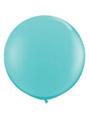 Topballon Caribbean Blue - 90cm  Qualatex