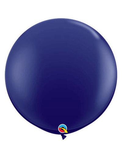 Topballon Marine Blauwe - 90cm  Qualatex