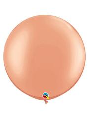 Topballon Rosé Goud Metallic- 90cm  Qualatex